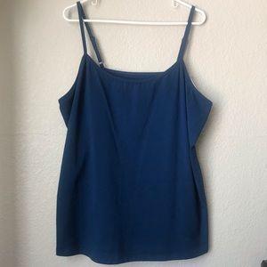 Lane Bryant Plus Size- Navy blue Cami (18/20)